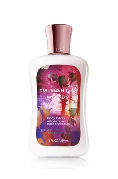 Twilight Woods Body Lotion - Signature Collection - Bath & Body Works  Lotion of the non fruity variety! YUM!
