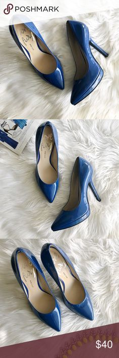 Nine West Love Fury Cobalt Blue Heels Nine West Blue cobalt Heels, in excellent condition! ( 1 inch platform)   •All listed items come from a smoke & pet free home.   •Same/next day shipping available.   •Poshing since 2013 Nine West Shoes Heels