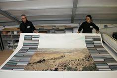 la stampa Fine.Art giclée certificata più grande sul mercato, (banda 180) disponibile da Spazio81