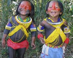 Carajá Indian Kids (Brazil)