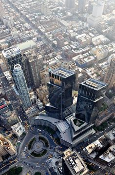 NYC. Time Warner Center Manhattan
