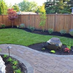 35 Easy, Simple And Cheap Landscape Ideas For Front Yard. Paved Backyard  IdeasBackyard PaversPaver ...