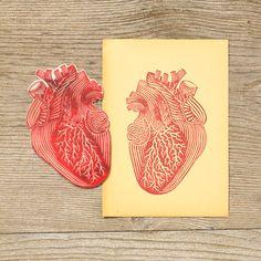 heart stamp, pablo salvaje.