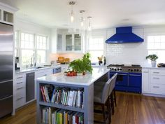 Renovation Inspiration: Colorful Stoves. Siemasko + Verbridge