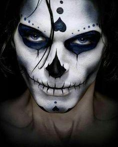 Nice mens sugar skull