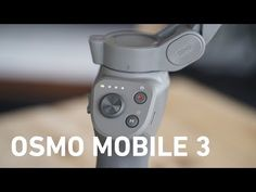 TEST DJI OSMO MOBILE 3 : LE MEILLEUR STABILISATEUR SMARTPHONE - YouTube Smartphone, Dji Osmo, Tech, Youtube, Products, Technology, Youtubers, Youtube Movies