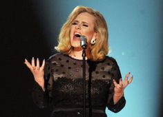 Adele performing Song of the Year, Rolling in the Deep, at the 2012 Grammy Awards