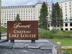 Fairmont Chateau Lake Louise, Alberta, Canada