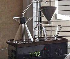 Coffee Brewing Alarm Clock