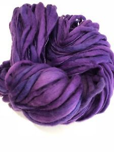 Handspun Thick n Thin Art Yarn. Merino Super Soft 5.3oz 120yards  | eBay