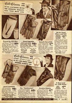 1930s men fashion pictures   1930s Men's Fashion Advertisements