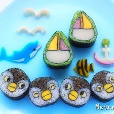 Penguin sushi by Megumi Seki (@megumiseki.hanawa)