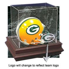 Baltimore Ravens NFL Boardroom Mini Helmet Display Case