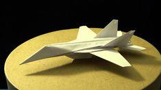 Origami f 18 hornet plane