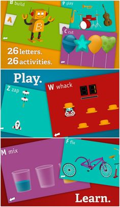 a fun alphabet learning app for preschool kids #kidsapps #alphabet #preschool #ece