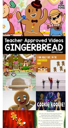 Gingerbread Videos for Teachers