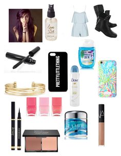 """""""Untitled #948"""" by peigestyles ❤ liked on Polyvore featuring Olivine, Nails Inc., Dove, La Mer, blacklUp, Lilly Pulitzer, NARS Cosmetics, Hush Puppies, Stella & Dot and Chanel"""