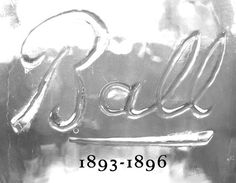 Antique Ball Mason Jar Mark & Company Brand Logo. Great article for dating and collecting fruit preserving jars.