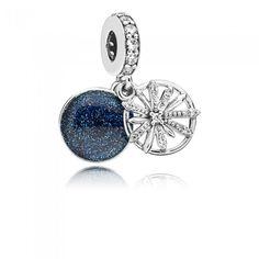 Argent Sterling 925 essence collection Balance Charm Spacer Bead Zircone Cubique Fit Bracelet