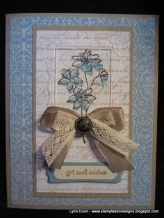 Love the Simply Soft Hostess Stamp Set from Stampin Up!