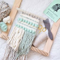 Ideas For Clothes Hanger Art Etsy Weaving Textiles, Weaving Art, Tapestry Weaving, Loom Weaving, Hand Weaving, Macrame Wall Hanging Patterns, Weaving Wall Hanging, Boho Wall Hanging, Dyi
