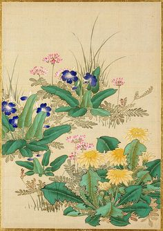 """Pictures of Flowers and Birds"" by Okamoto Shūki"