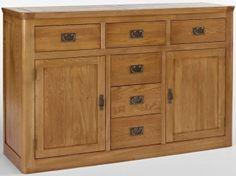 Ametis Knightsbridge Oak Sideboard - Large