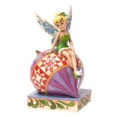 Enesco Disney Tradition - Figurilla colgante Trilly, de resina, altura de 18 cm, multicolor
