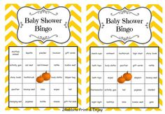 Arranging a Baby Shower on Thanksgiving? Here's a great idea that will entertain your guests. Print these cards and play bingo with your guests. Everyone at your shower will love it!! Don't forget to use our coupon especially for the holiday season  HOLIDAYS30OFF get 30% off your order #fallbabyshower #thanksgivingbabyshower #bingobabyshower #etsypartyshop