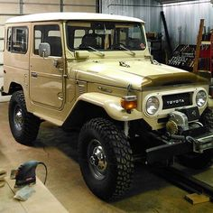 Nice FJ40 Restoration! Icon Toyota 4x4 The Ultimate Offroad Adventure Vehicle
