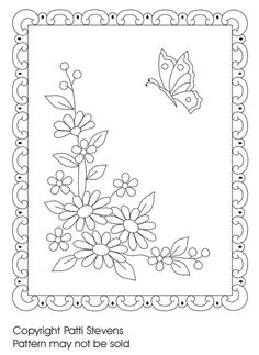 The Latest Trend in Embroidery – Embroidery on Paper - Embroidery Patterns Paper Embroidery, Hand Embroidery Patterns, Cross Stitch Embroidery, Machine Embroidery, Clipart, Craft Patterns, Quilt Patterns, Coloring Books, Coloring Pages