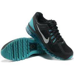 http://www.asneakers4u.com/ 2013 Nike air max mens shoes black blue