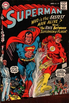 COMIC superman 199 #comic #cover #art This shows the classic style used for comic book art. It is completely different to modern art. the characters look like they have been drawn compared to modern images where they look more life like.