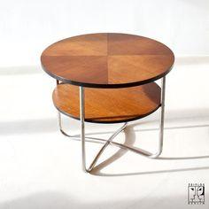 Jindrich Halabala tubular steel table