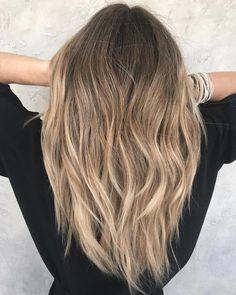 Long Sliced Haircut and Sombre - hair styles for short hair Long Layered Haircuts, Haircuts For Long Hair, Long Hair Cuts, Straight Hairstyles, Layered Hairstyles, Cut Hairstyles, Toddler Hairstyles, Shoulder Hair, Ombré Hair