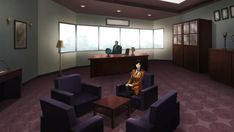 Japanese High School, Conference Room, Table, Furniture, Home Decor, House, Decoration Home, Room Decor, Tables