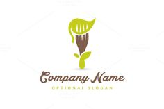 For sale. Only $29 - simple, green, plant, restaurant, leaf, life, food, healthy, diet, fork, meal, eat, cook, nutrition, flora, vegetarian, vegetation, herb, dish, forked, vegan, consume, impaled, grow, tree, sprout, flower, organic, vitamin, logo, design, template,