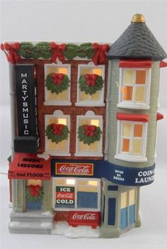 Coca Cola Town Square Collection Marty's Music & Downstairs Coin Op repaired
