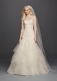 Oleg Cassini at David's Bridal Oleg Cassini Style CWG737 Wedding Dress photo