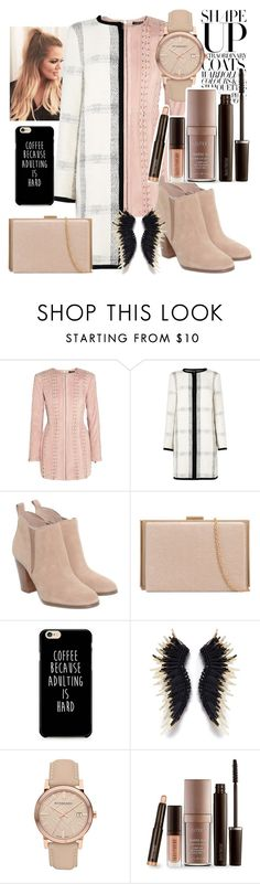 """""""Untitled #442"""" by ashstylist101 on Polyvore featuring Balmain, L.K.Bennett, Michael Kors, Burberry and Laura Mercier"""