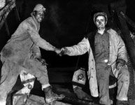 U.S. Army Corps The Men Who Built the Road (wonderful article about racism during the construction of the Alaska Highway)