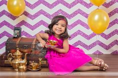 So vibrant and so colorful! This adorable portrait from Ten Little Toes Photography features our Magenta Glitter Chevron Printed Backdrop. You can get the look of glitter, without the mess! Glitter Chevron, Studio Backdrops, Photography Backdrops, Get The Look, Photo Props, Magenta, Vibrant, Portrait, Formal Dresses