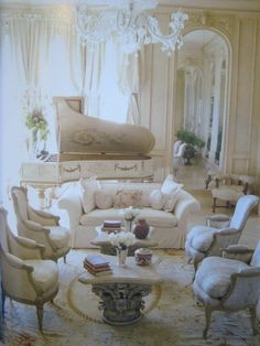French design, white on white.  This is just one of the styles that fits my style.