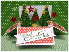 Nikki Spencer-My Sandbox: Card in a Box-Festival of Trees...Sneak Peek!