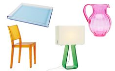 17 Colorful Lucite Home Accessories from Katie Anderson of Modern Eve