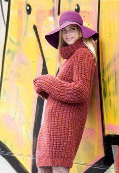 Lana Grossa RAGLANPULLI Splendid/Yak Merino - FILATI Handstrick No. 65 - Modell…