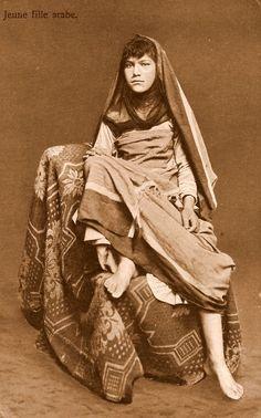EGYPTE, Jeune Fille, Arabe années. 1910
