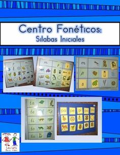 Spanish: Centro foneticos 002: Initial Sound/Syllable Picture Sort A-ZTeachers can practice sorting pictures according to their Initial Sound or Initial Syllable in SPANISH. This product has both the BALL & Stick font. as well as the D'Nealian font.
