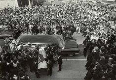 In this image the body of George Jackson is shown being brought into St. Augustine Episcopal Church for his funeral on August 28. By the time the funeral ended and the pallbearers carried the coffin back out, 8,000 people were waiting outside.  Follow this link to find a short video post revisiting the legacy of the Black Panther Party: http://www.thesociologicalcinema.com/videos/the-black-lives-matter-movement-is-much-older-than-you-think  Photo credit: Stephen Shames