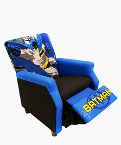 Take a look at this Batman Recliner by Newco on #zulily today!